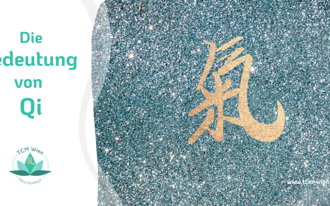 Über das Qi in der chinesischen Medizin