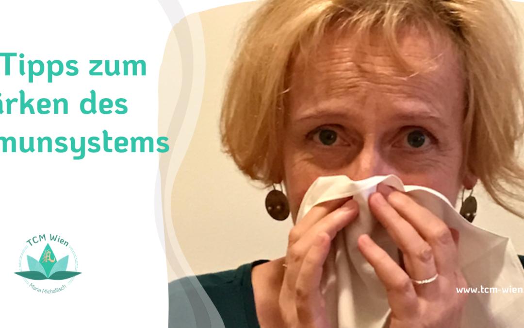 10 Tipps zum Stärken unseres Immunsystems