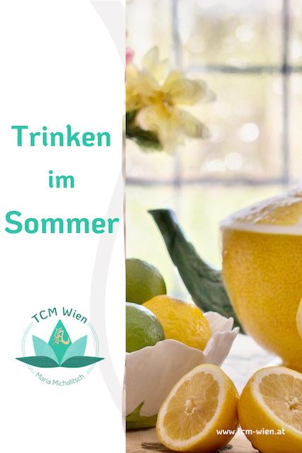 TCM: Die besten Getränke im Sommer